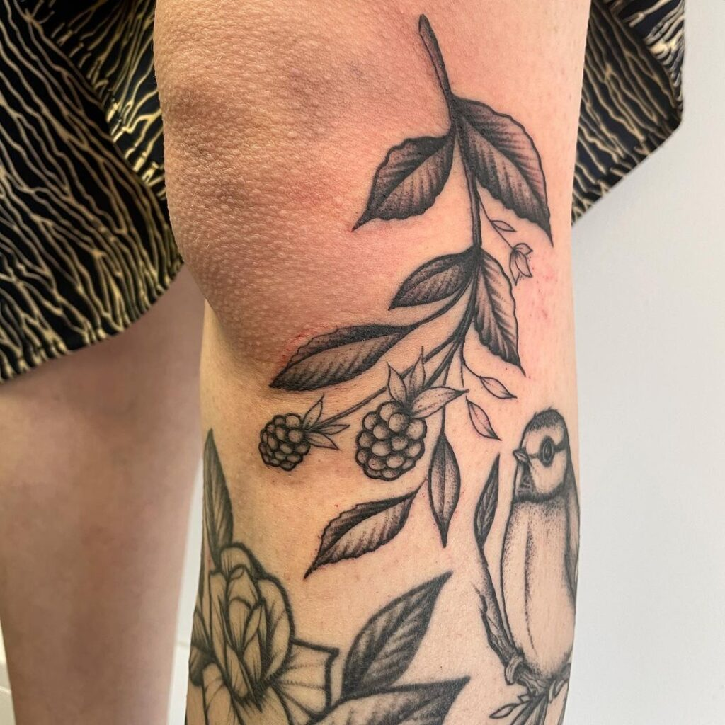 Knee Tattoos 60