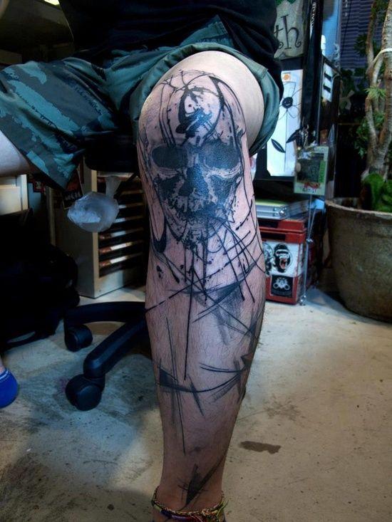 Knee Tattoos 63