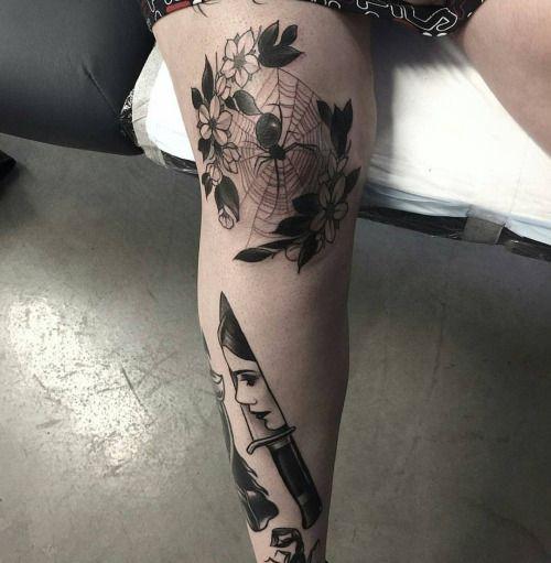 Knee Tattoos 75