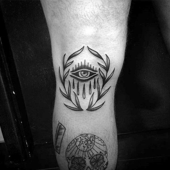 Knee Tattoos 77
