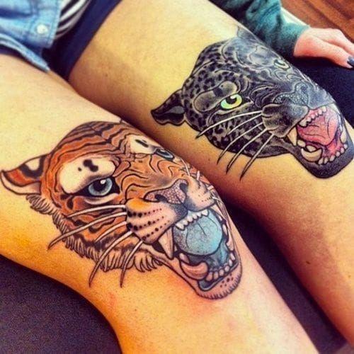 Knee Tattoos 82