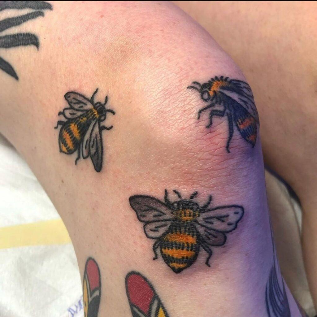Knee Tattoos 83