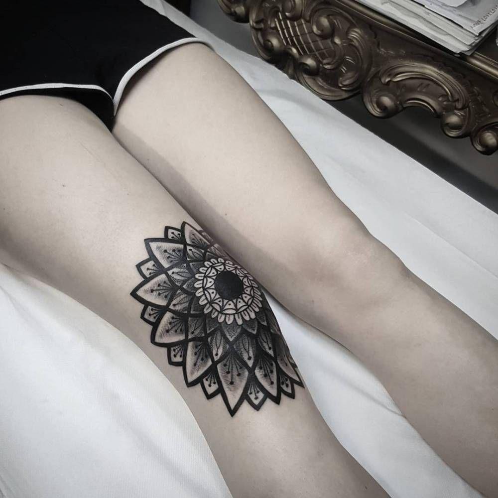 Knee Tattoos 84