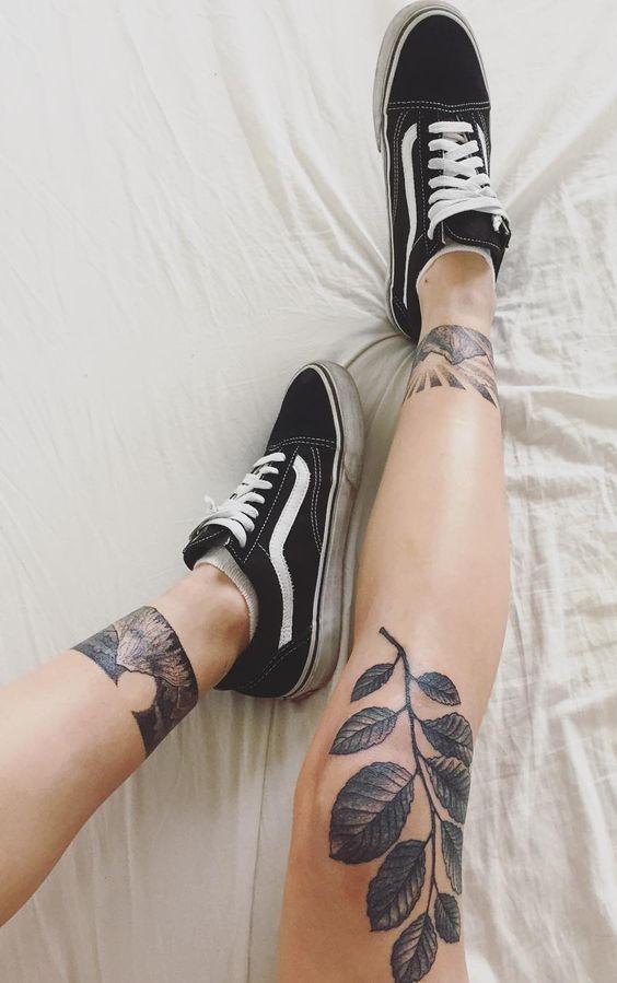 Knee Tattoos 92