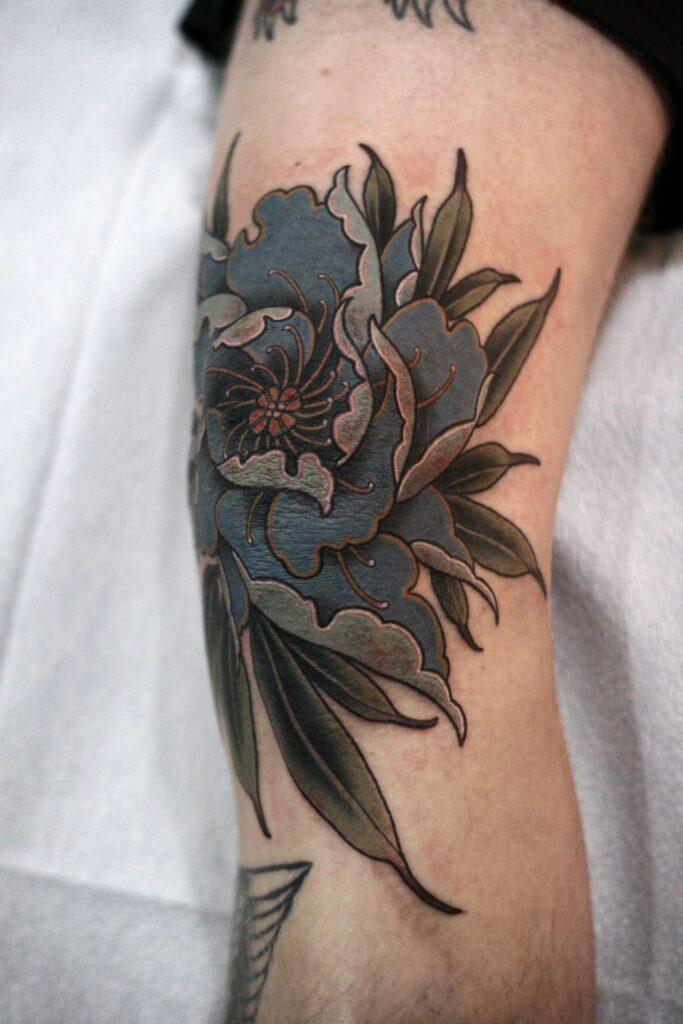 Knee Tattoos 99
