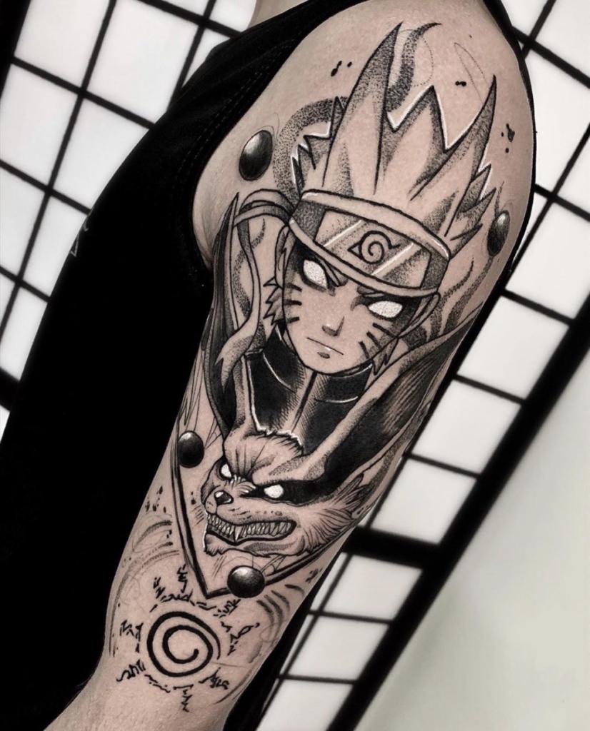 Naruto Tattoos 10