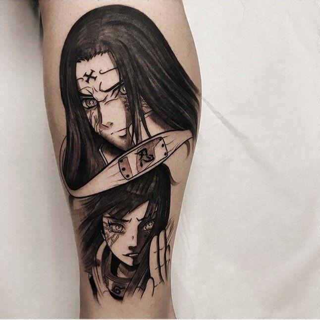 Naruto Tattoos 106