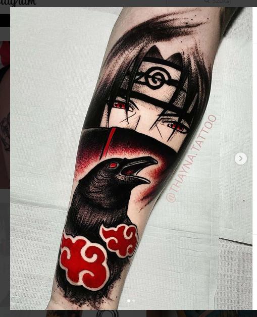 Naruto Tattoos 11