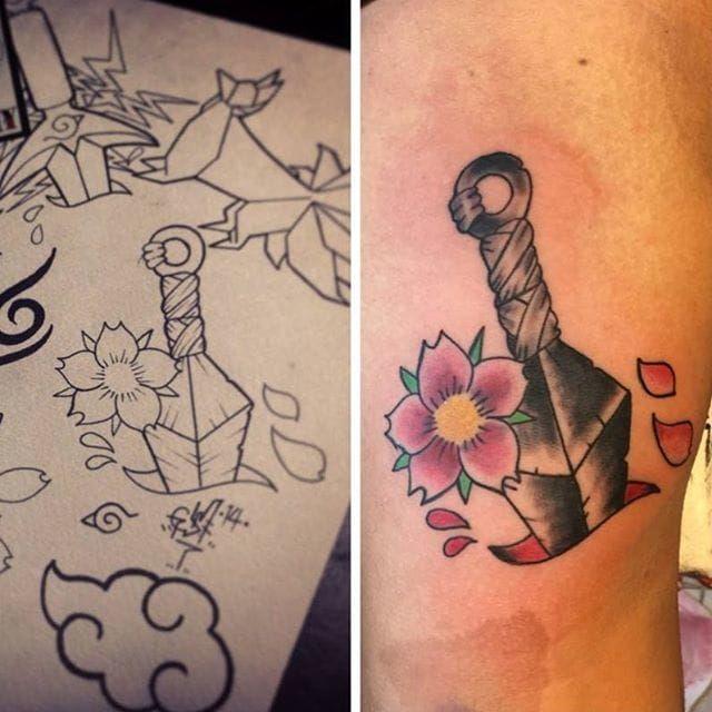 Naruto Tattoos 16
