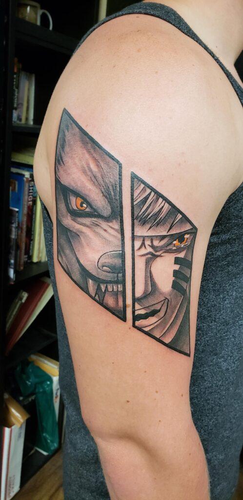 Naruto Tattoos 63
