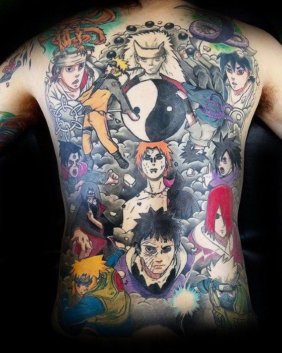Naruto Tattoos 88