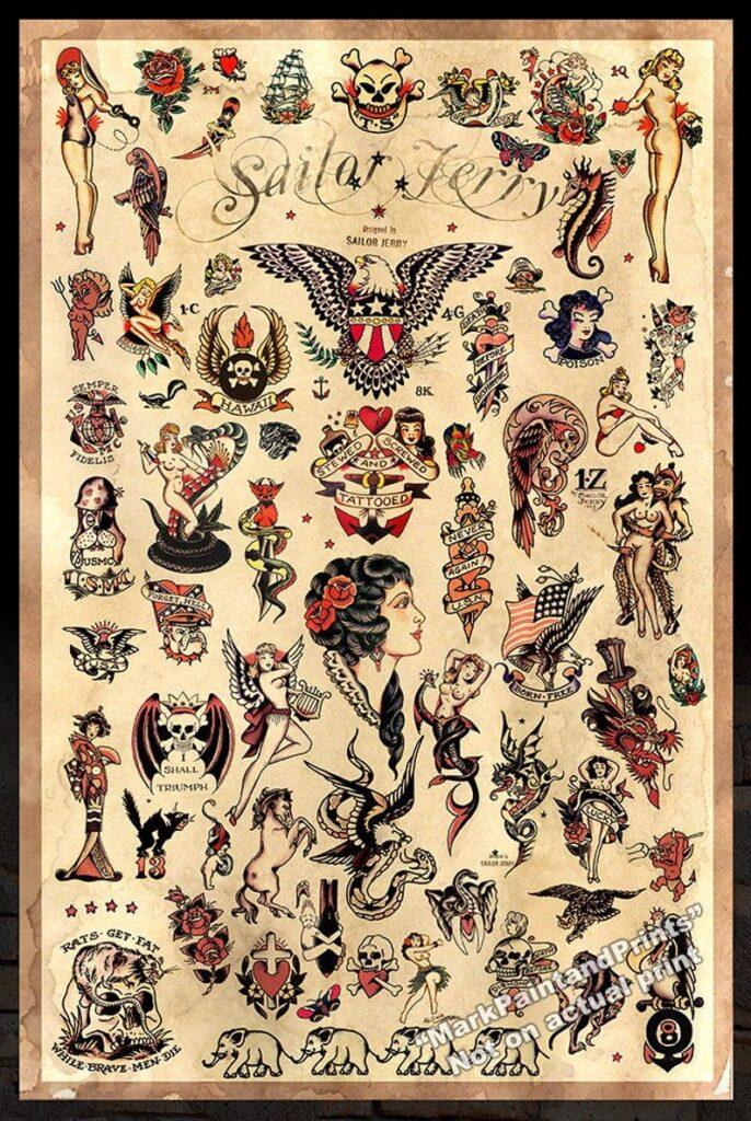 Sailor Jerry Tattoos 110