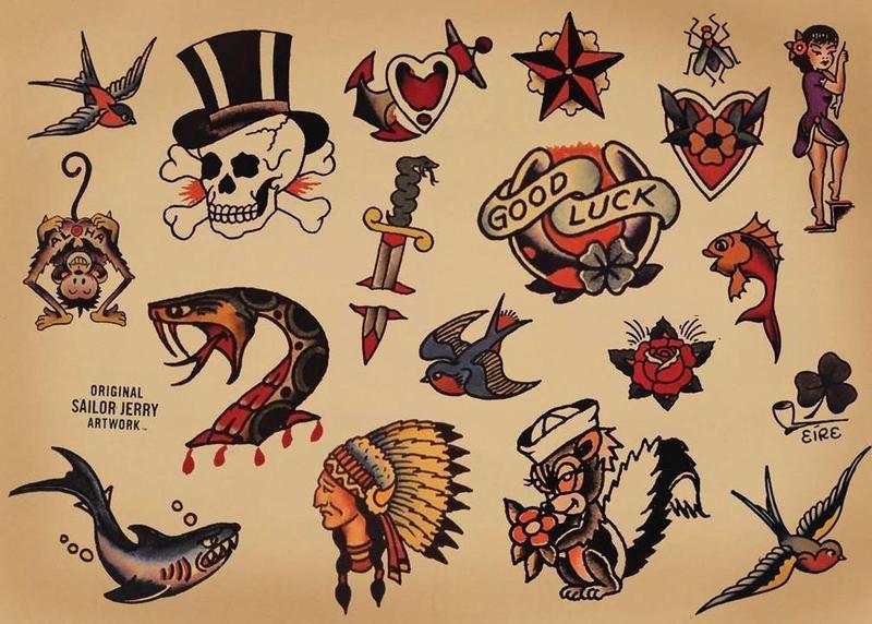 Sailor Jerry Tattoos 120