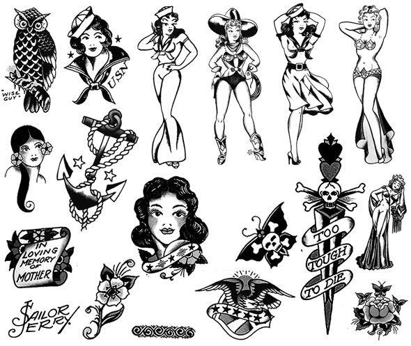 Sailor Jerry Tattoos 124