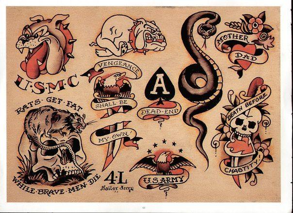 Sailor Jerry Tattoos 128