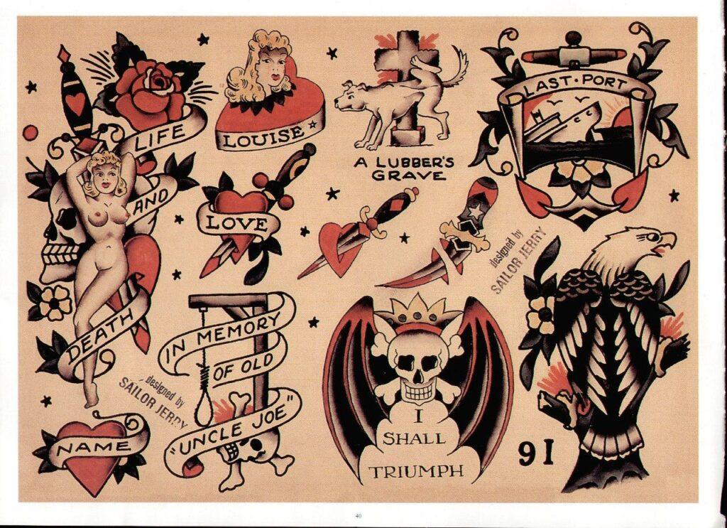 Sailor Jerry Tattoos 132