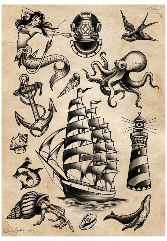 Sailor Jerry Tattoos 136