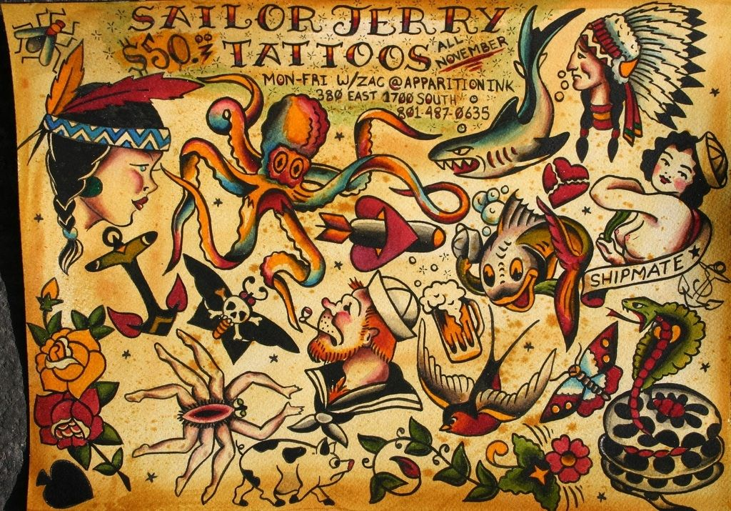 Sailor Jerry Tattoos 162