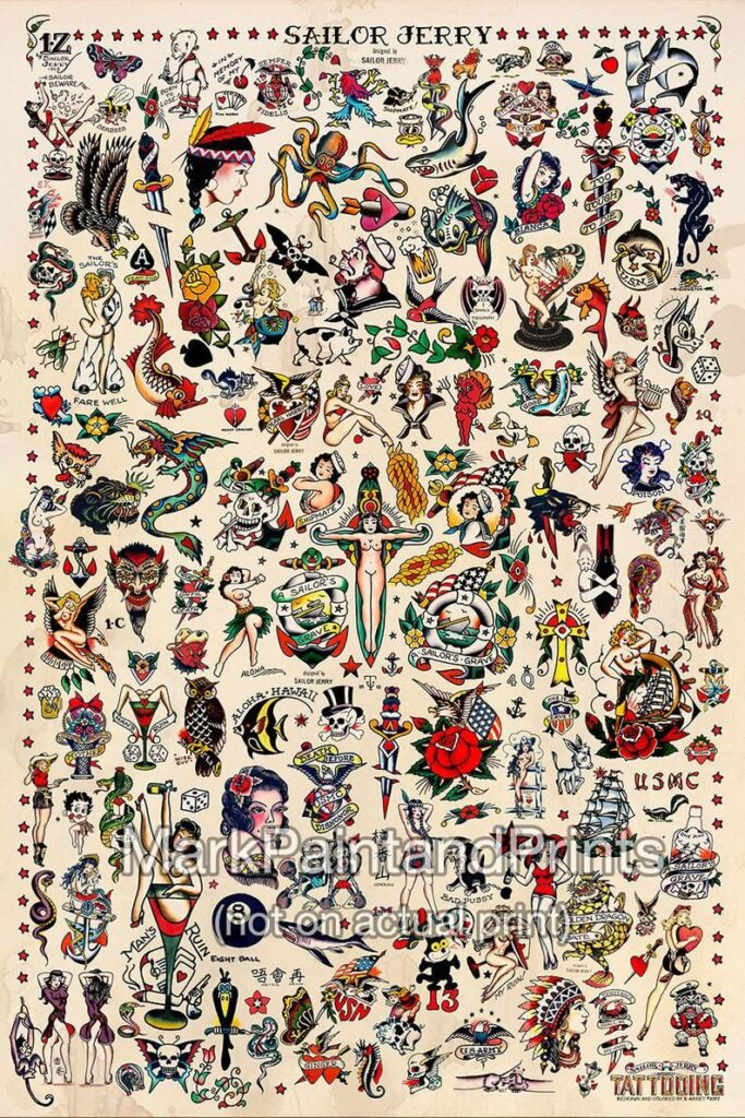 Sailor Jerry Tattoos 171