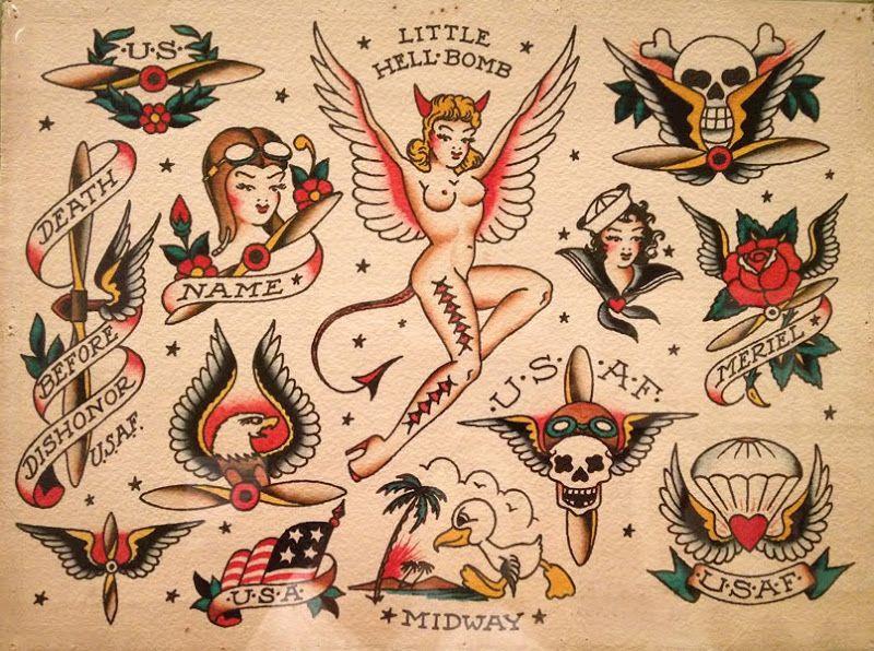 Sailor Jerry Tattoos 176