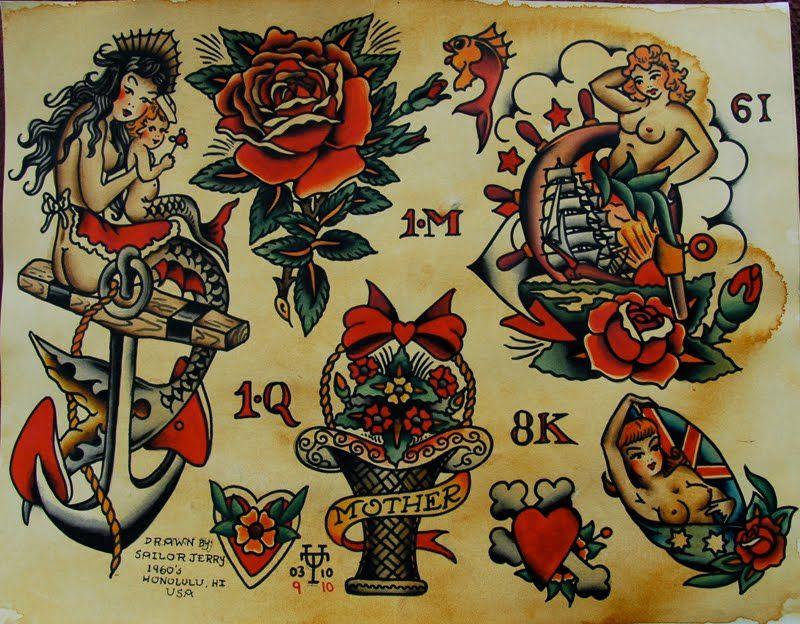 Sailor Jerry Tattoos 186