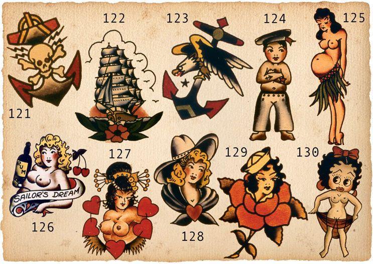 Sailor Jerry Tattoos 191