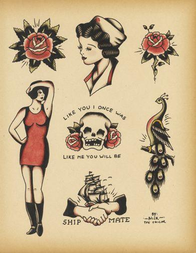 Sailor Jerry Tattoos 199