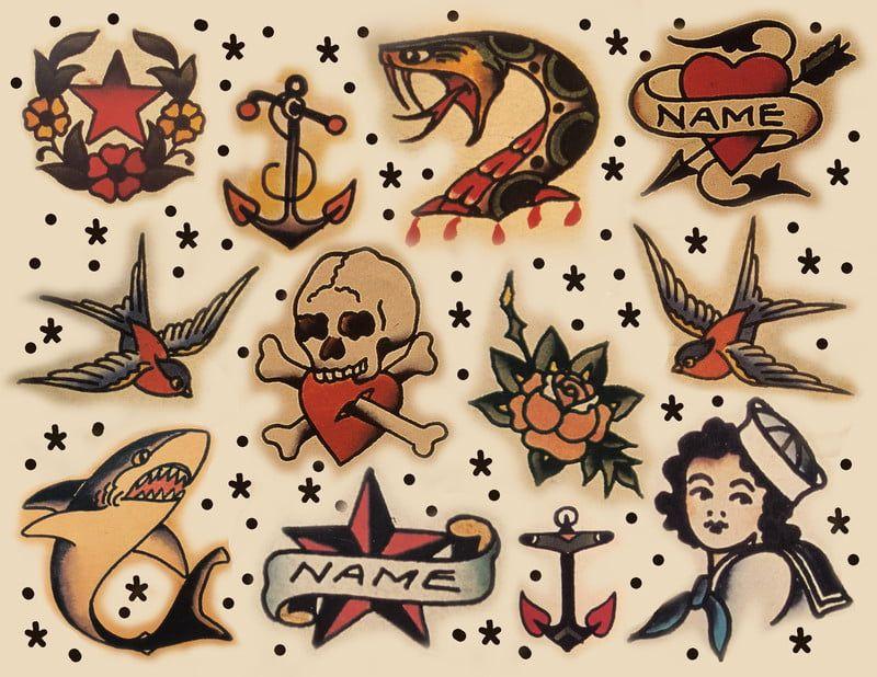 Sailor Jerry Tattoos 206