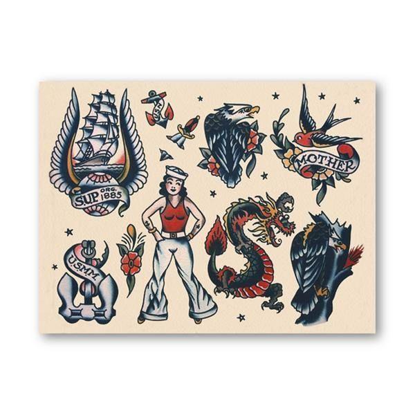 Sailor Jerry Tattoos 209