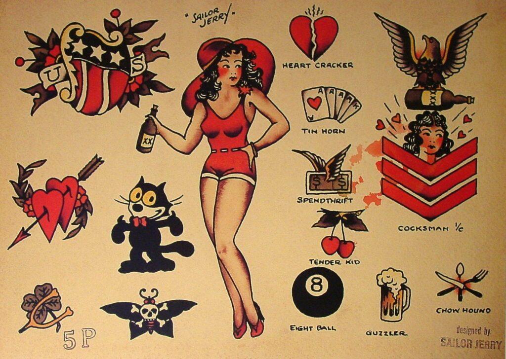 Sailor Jerry Tattoos 214