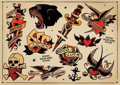 Sailor Jerry Tattoos 227
