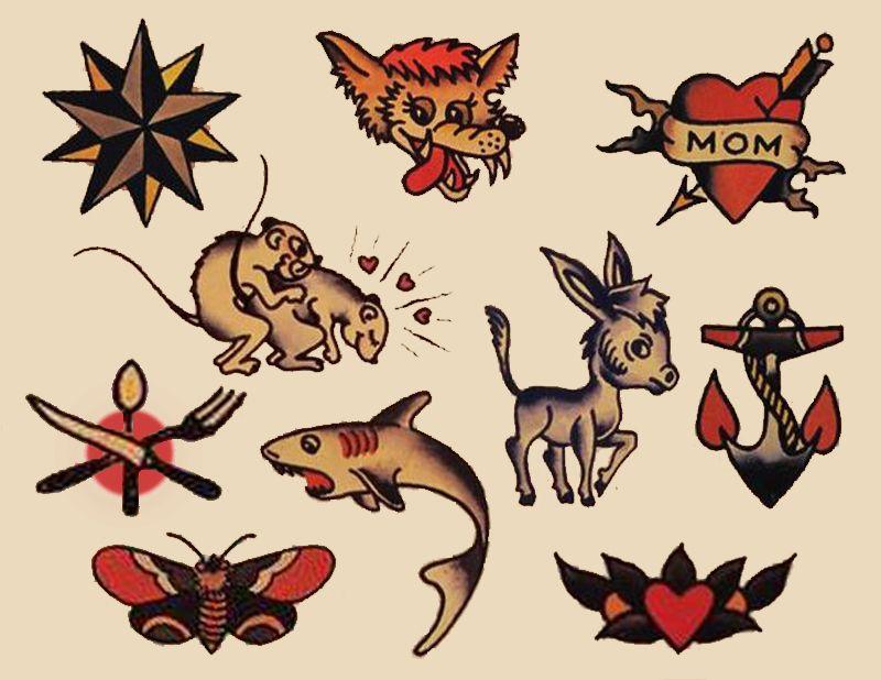 Sailor Jerry Tattoos 230