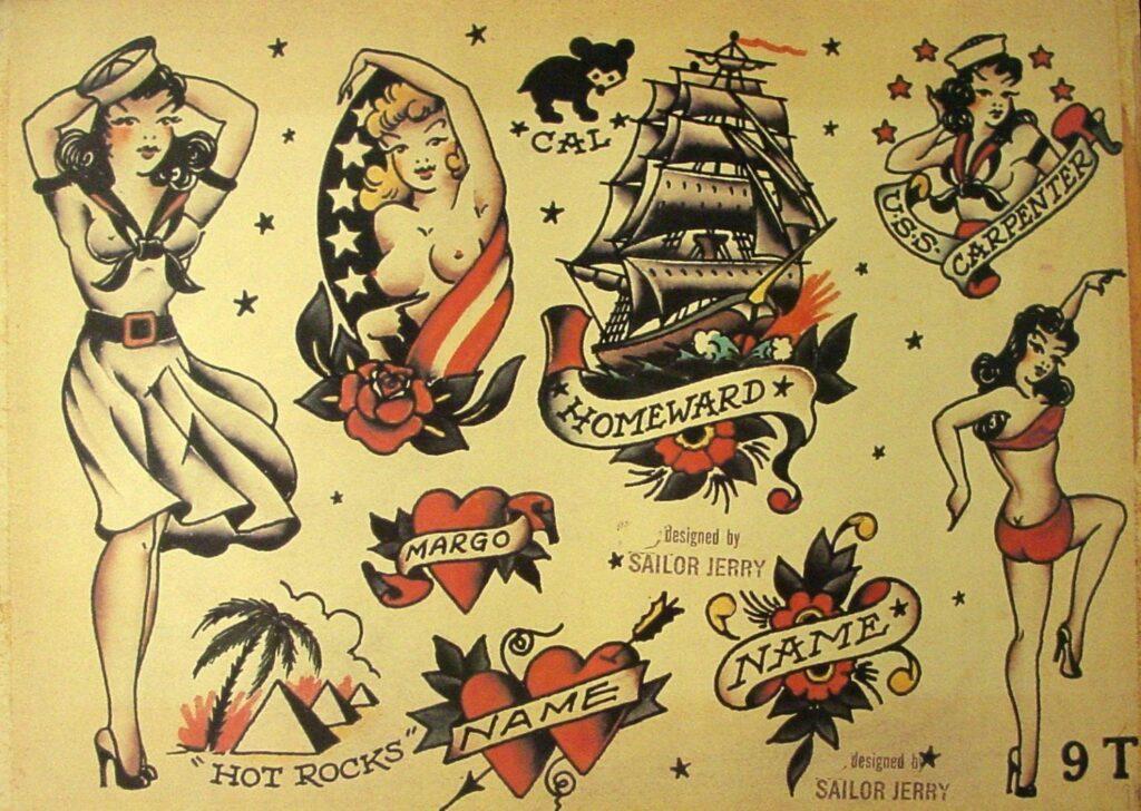 Sailor Jerry Tattoos 24
