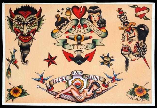 Sailor Jerry Tattoos 59