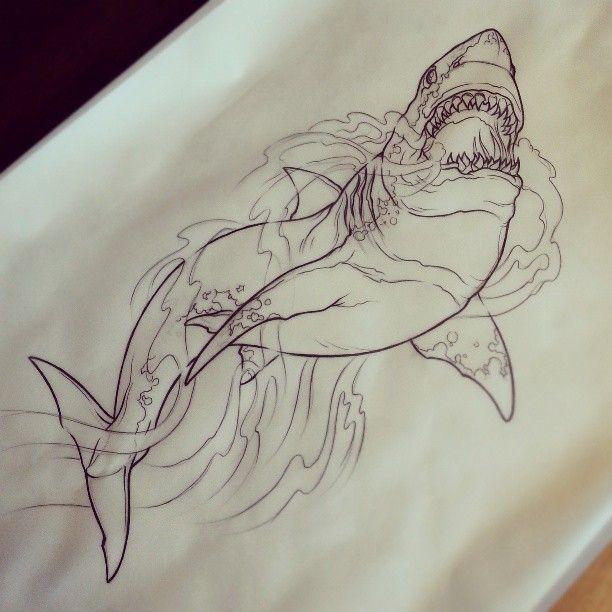 Shark Tattoos 109