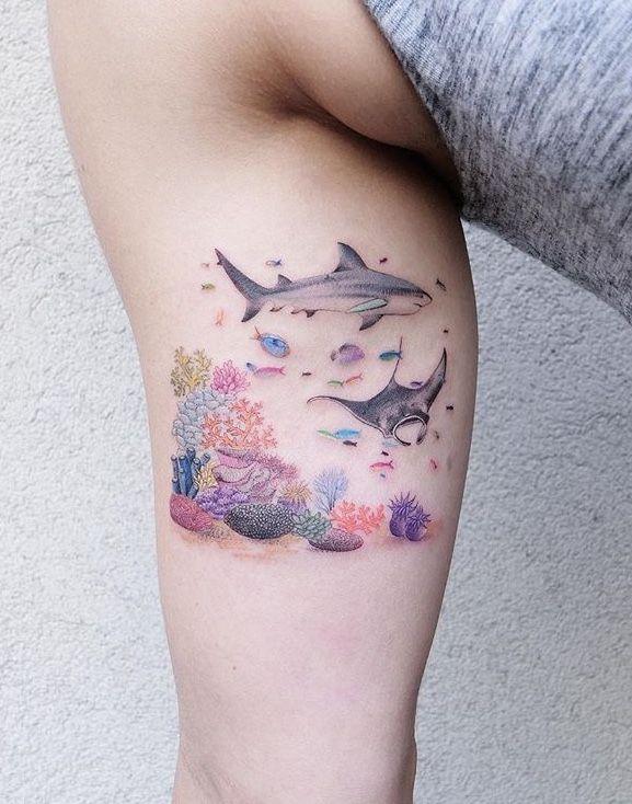 Shark Tattoos 78