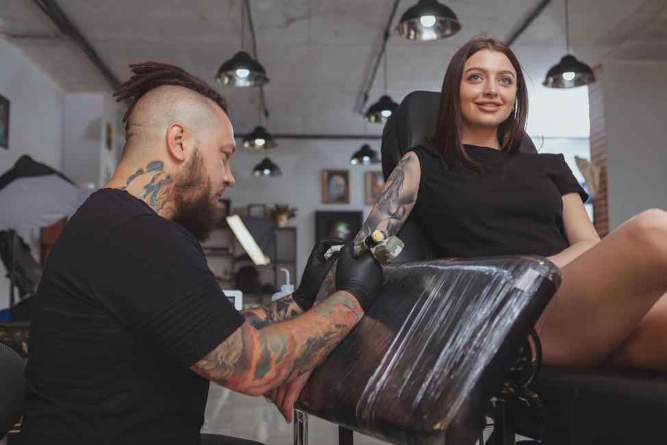 Tattoo Shop Client