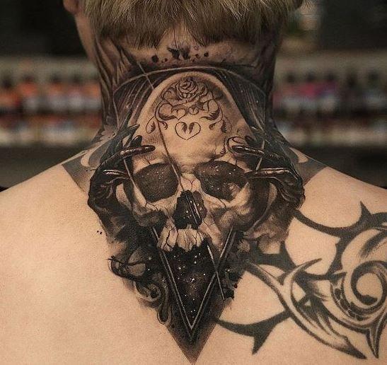 Throat Tattoos 11