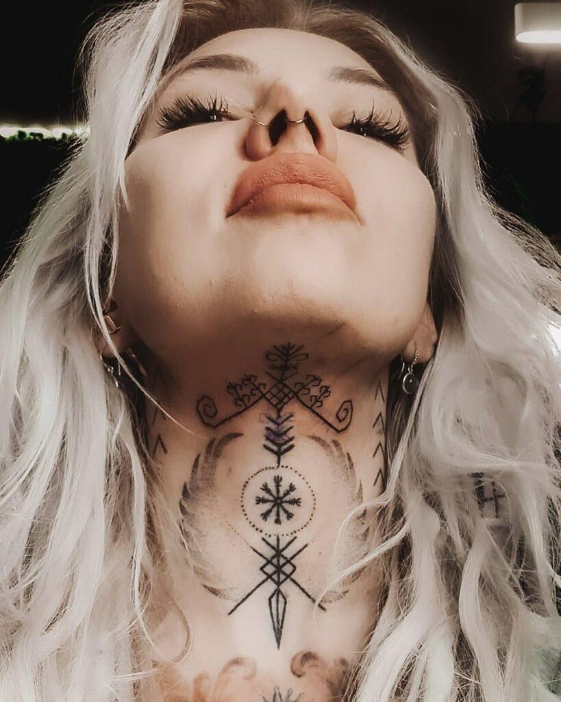 Throat Tattoos 112