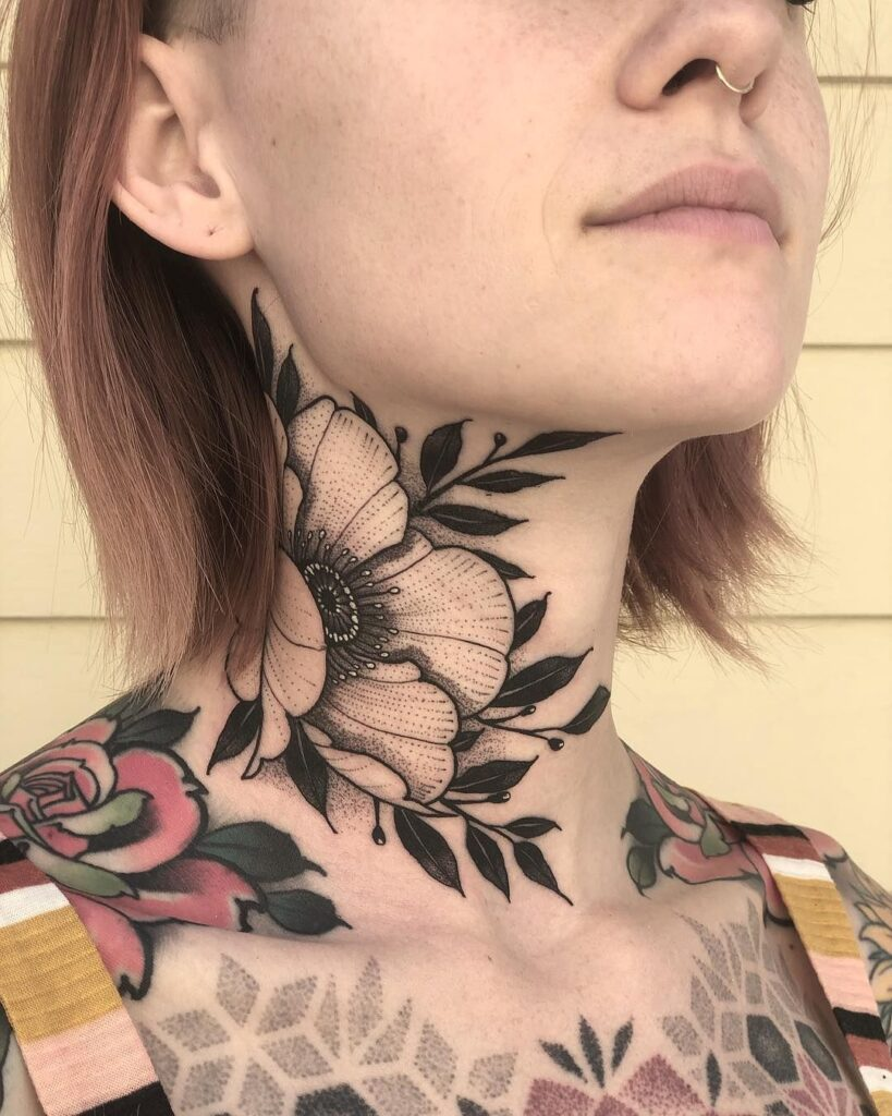 Throat Tattoos 115