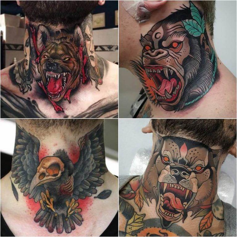 Throat Tattoos 119