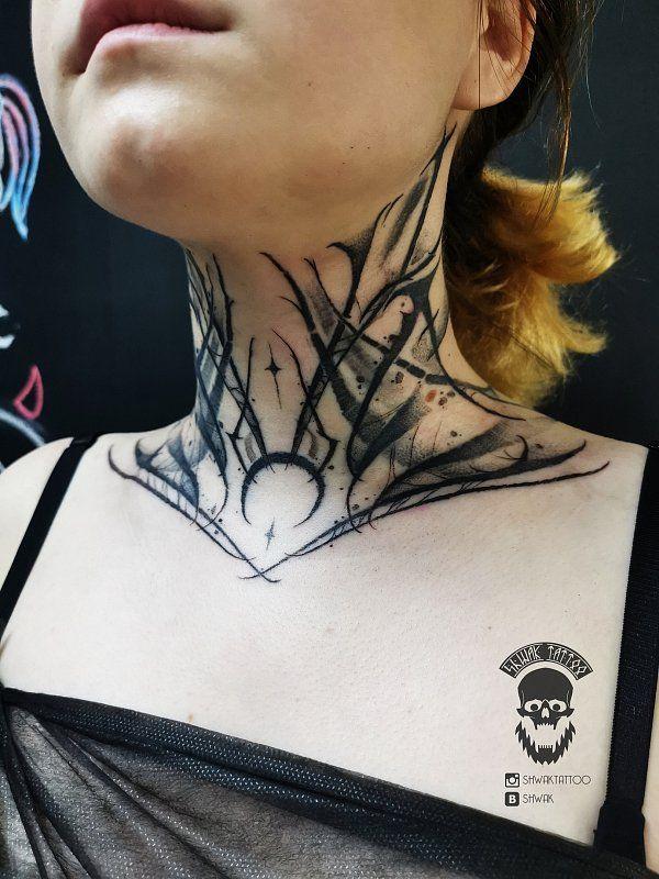 Throat Tattoos 122