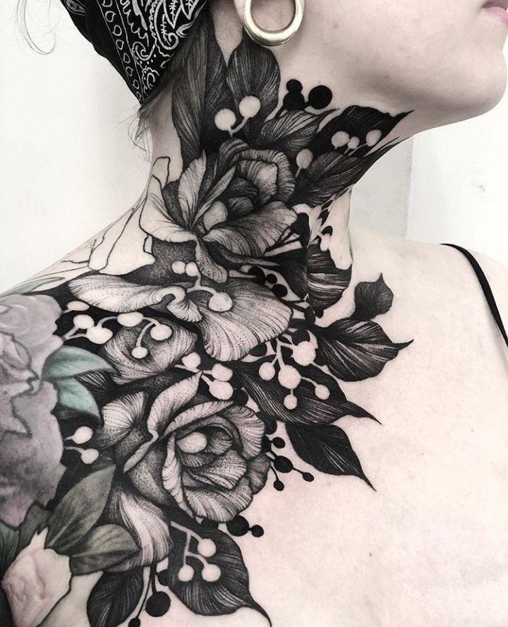 Throat Tattoos 123
