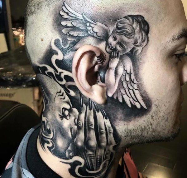 Throat Tattoos 17