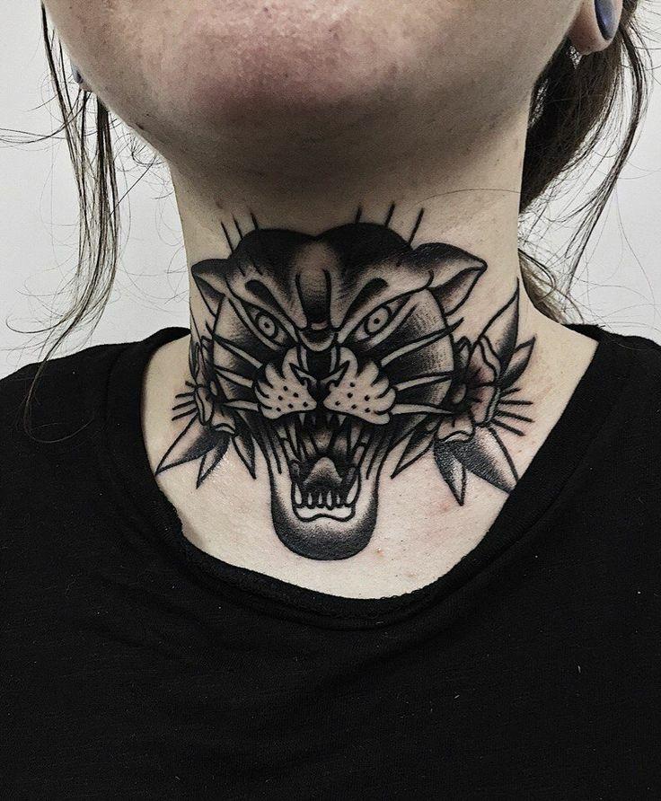 Throat Tattoos 19