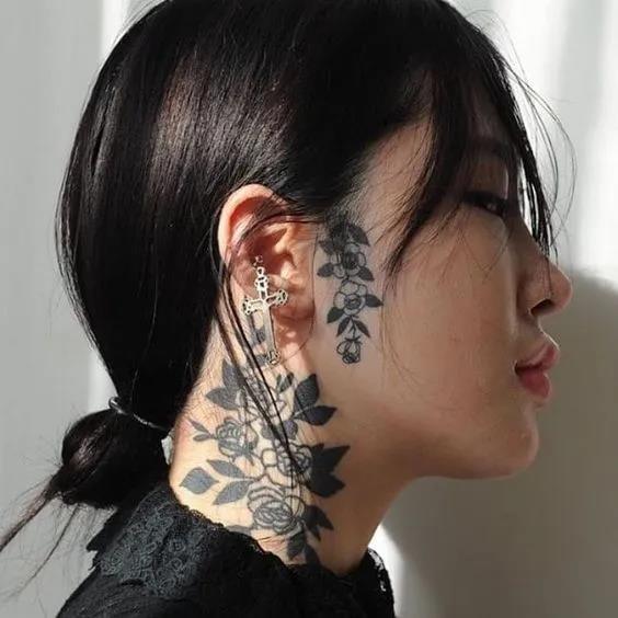 Throat Tattoos 2