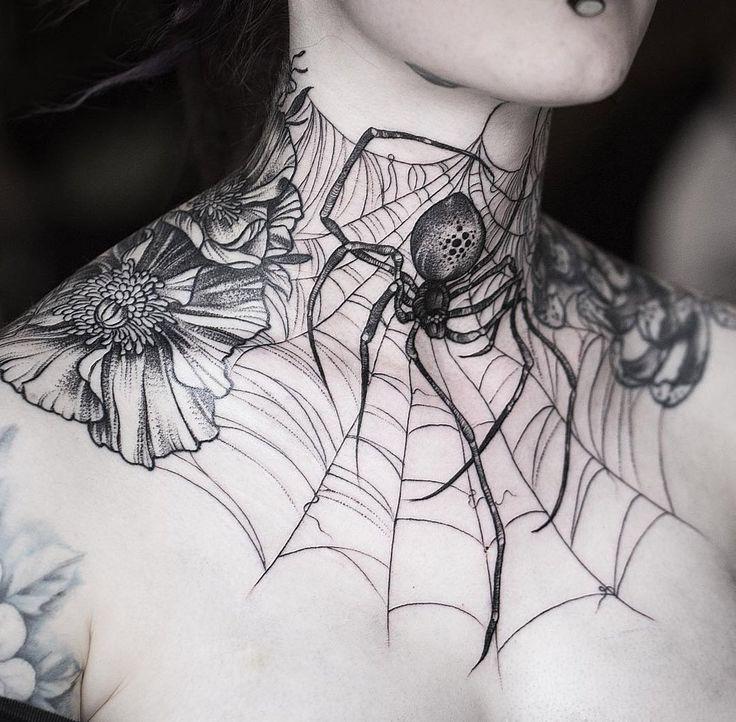 Throat Tattoos 20