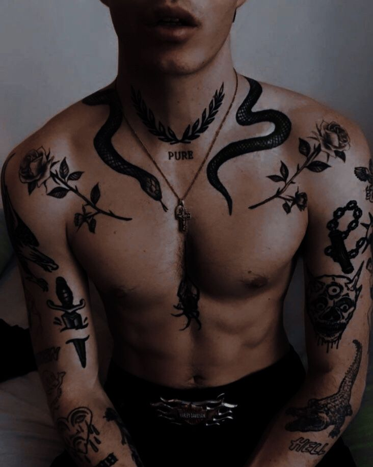 Throat Tattoos 25