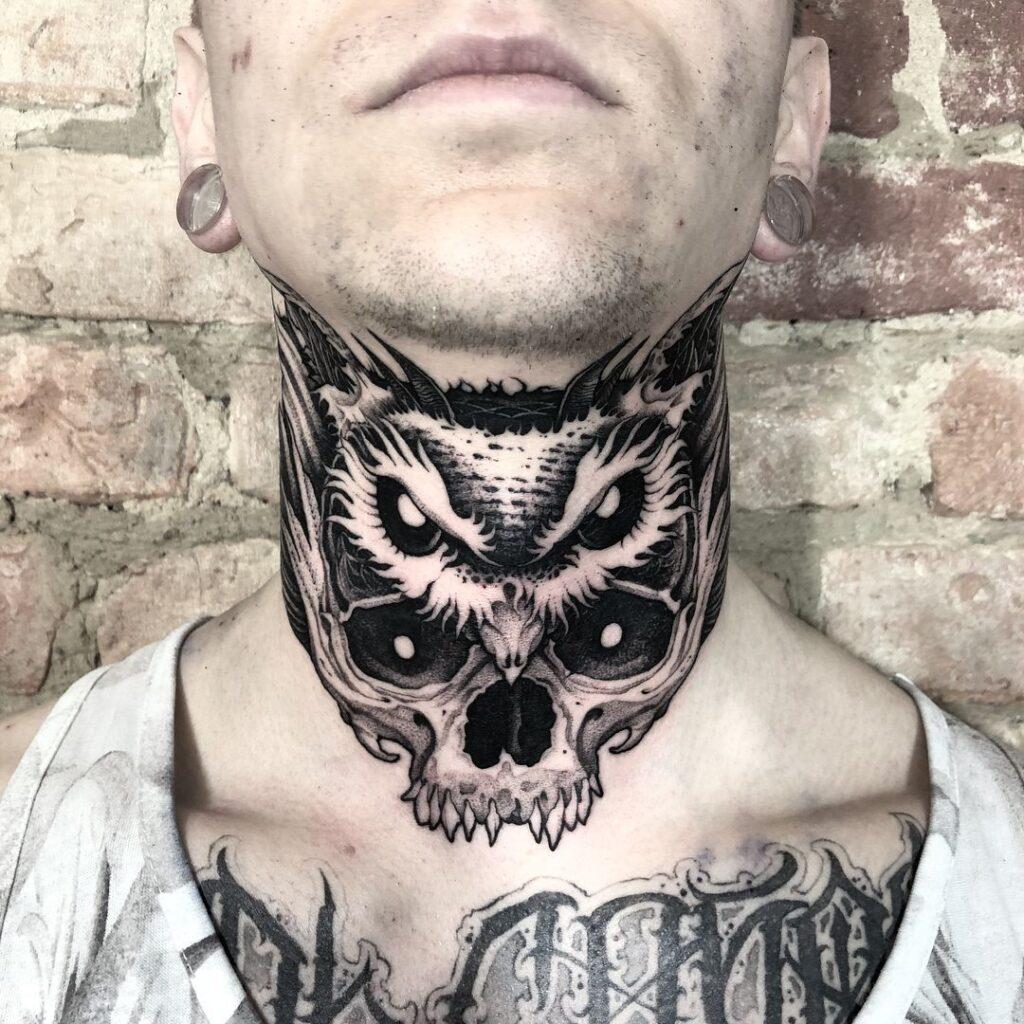Throat Tattoos 29