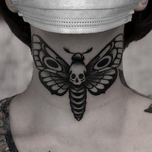 Throat Tattoos 34